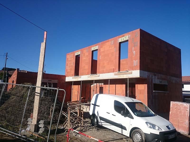 Construction d 39 une maison contemporaine for Construction maison neuf